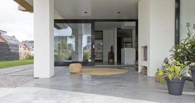 Wilt u een beton terras aanleggen?